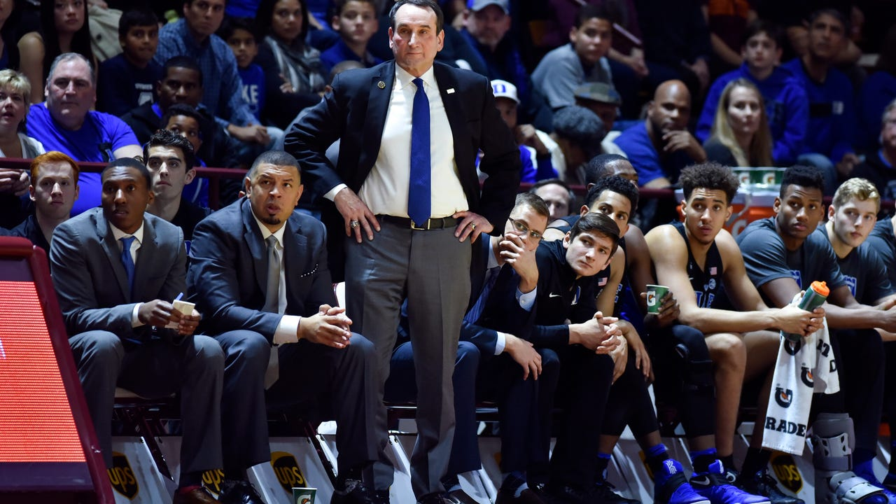 Duke head coach Mike Krzyzewski will undergo lower back surgery on Friday to remove a fragment of a herniated disk and will take a leave of absence as he recovers, the university announced.