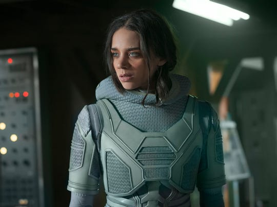 "Ghost (Hannah John-Kamen) has cool powers but they're a part of a quantum affliction in ""Ant-Man and the Wasp."""