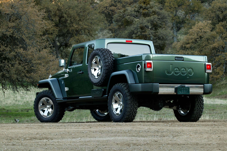XXX 2005 Detroit Auto Show JEEP GLADIATOR CONCEPT BACK F FEA MI