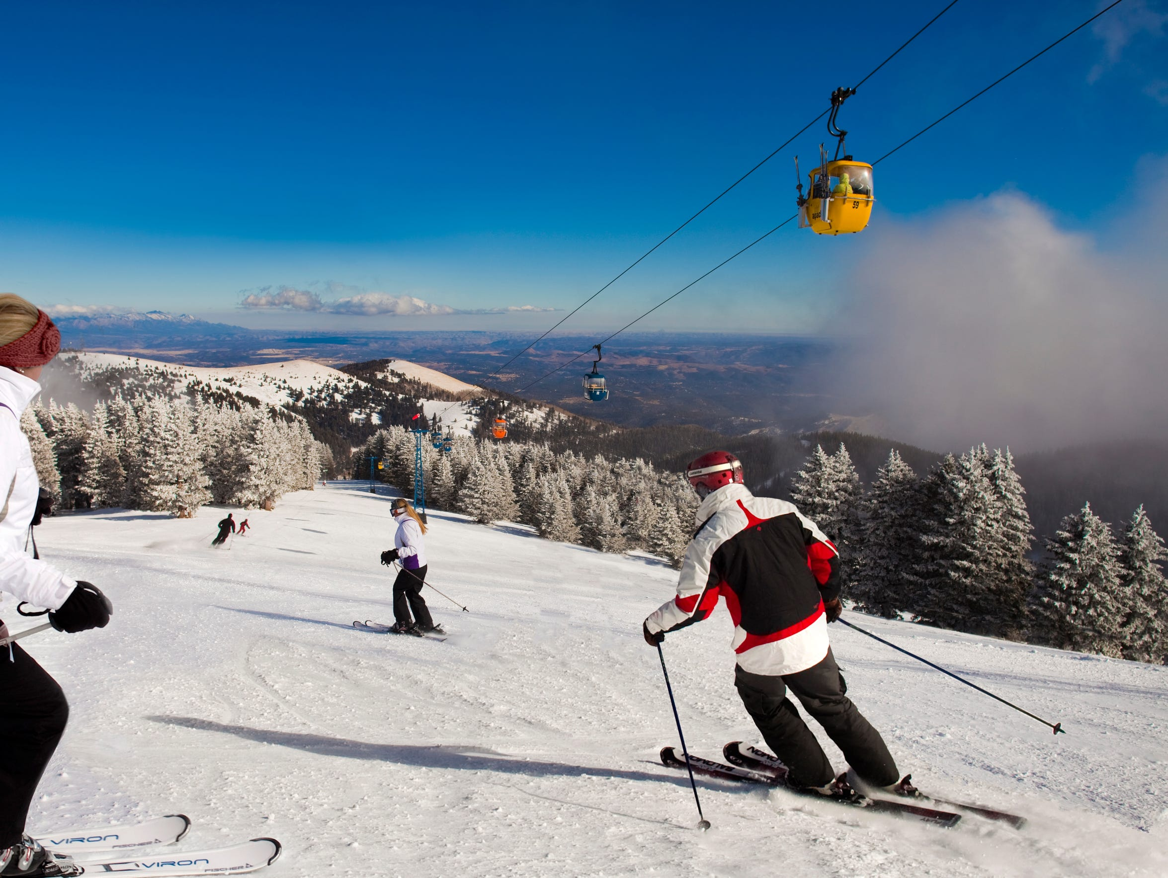 Ski Apache Mountain opens on Dec. 15 for winter sports.