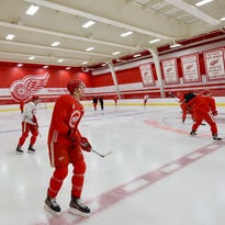 Red Wings getting used to new surroundings at LCA