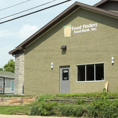 Food Finders Food Bank received a grant for $100,000