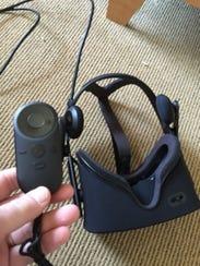 Oculus Rift and Oculus Remote