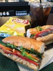 The Euro sandwich at The Coffee Fusion in Murfreesboro.