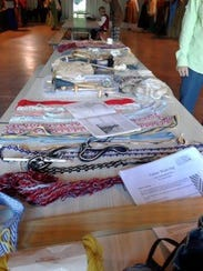 Crafts made by SCA reenactors will be sold at the Medieval