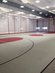 West Forks Schools built a school-community gym with