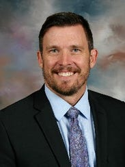 Chris Swenson, superintendent of Holdingford school