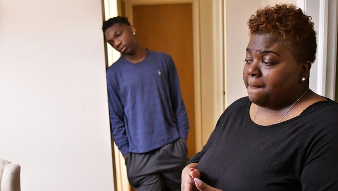 Deidra Harris- Thomas, whose son, Corey, was shot and killed in June 2017, says inner-city violence isn't being addressed with the same fervor as rarer killings in suburban and rural schools.