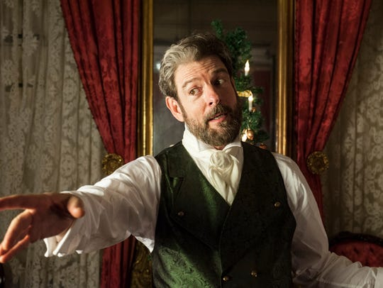 John Kevin Jones plays Charles Dickens in the sixth