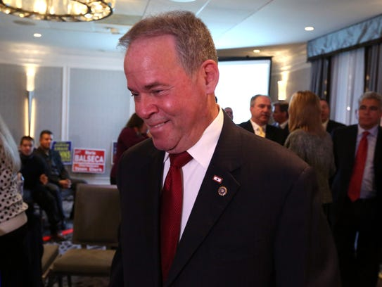 Rockland County Executive Ed Day celebrates his re-election