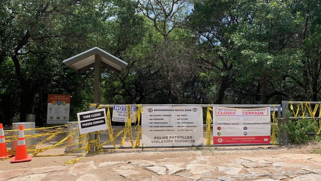The Hill of Life trailhead, in the Woods of Westlake neighborhood, will reopen Saturday to visitors who have made a reservation.