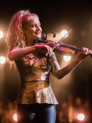 """The most astonishing young talent I have ever seen,"" fiddle star Martin Hayes calls Haley Richardson."