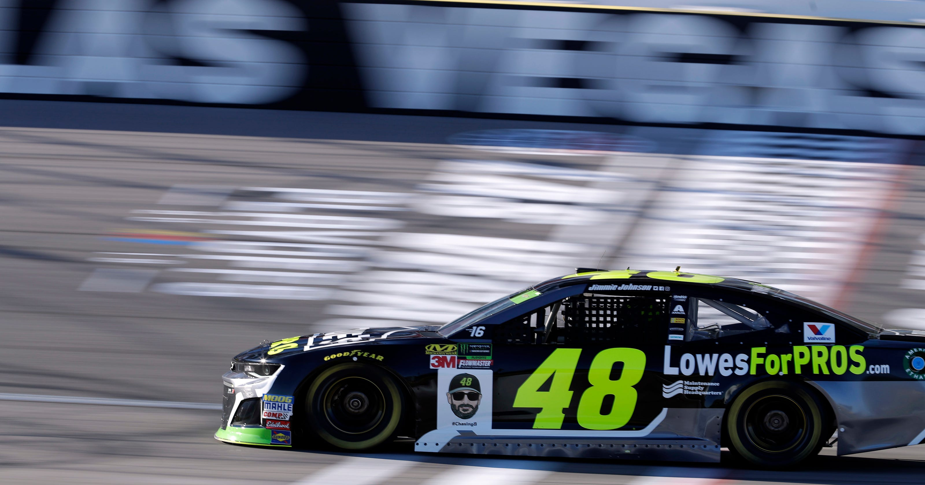 The heat is on: NASCAR playoff push kicks into gear in Vegas