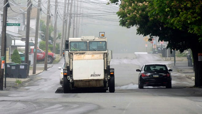 Paterson's street sweepers have suffered from frequent breakdowns.