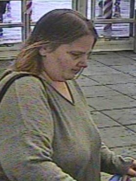 Police are looking for the identity of this woman, suspected of snatching a purse at the Walmart in Springettsbury Township.