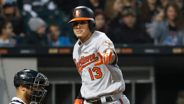 A free agent this winter, Machado is on pace for...