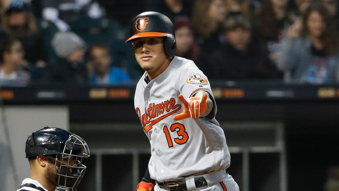 A free agent this winter, Machado is on pace for a career year.
