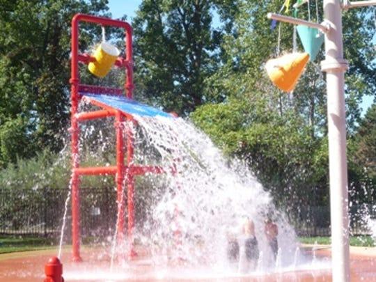The H2O Zone in Tattan Park.