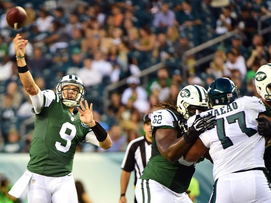 NFL: Preaseason-New York Jets at Philadelphia Eagles