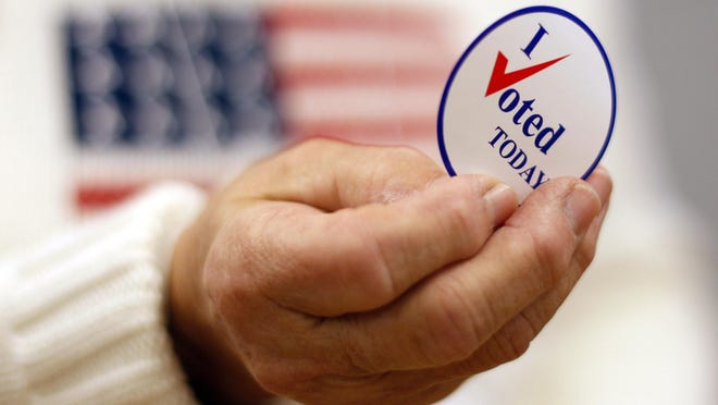 Are you registered to vote? Indiana's voter registration ends April 9 for the primary election. (AP Photo/Robert F. Bukaty)