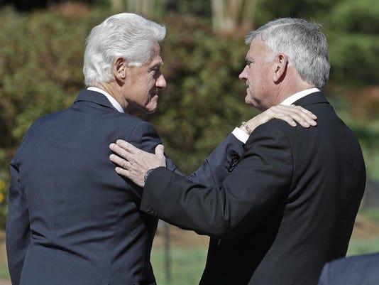Bill Clinton,Franklin Graham