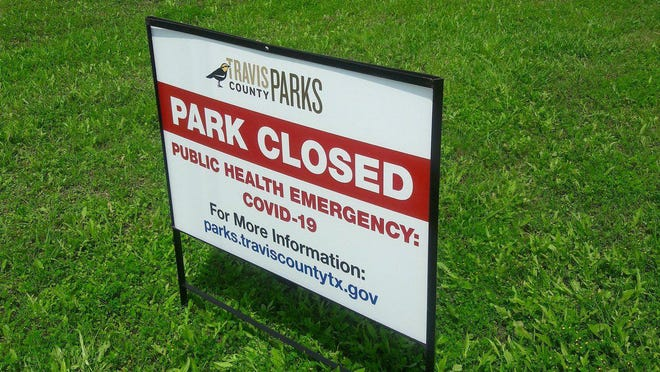 Pace Bend park closes to overcrowding Sunday.
