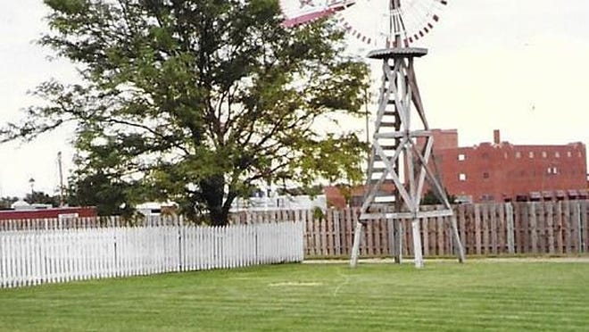 The Star windmill which stood in the yard at the Boot Hill Museum. SUBMITTED PHOTO