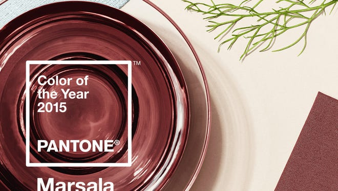 Marrsala, Pantone's Color of the Year for 2015.