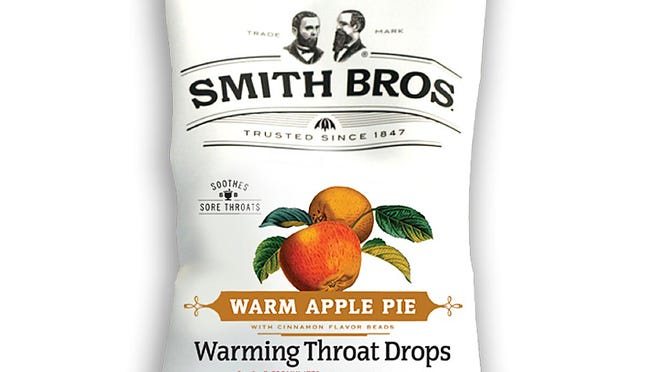 Warming Throat Drops from Smith Brothers.