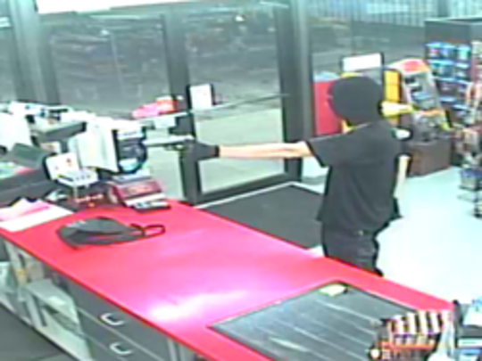 Deputies are asking the public to help identify a man that robbed a Git-N-Go at gunpoint Monday night.