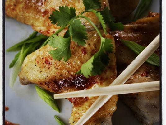 Honey Sriracha Chicken with Soy and Cilantro