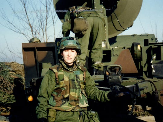 During her military career, Lt. Col. Mary E. Gould