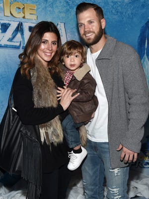 Jamie-Lynn Sigler is newly married to baseball player Cutter Dykstra, with whom she has a young son, Beau.