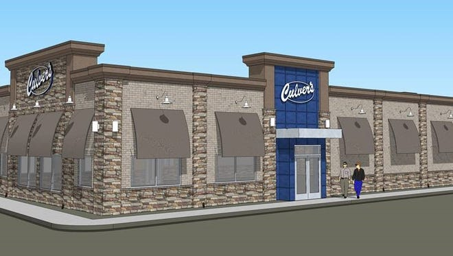 A new Culver's restaurant is currently under construction in the Hartland Towne Square shopping plaza near the northeast corner of M-59 and US 23 in Hartland Township.
