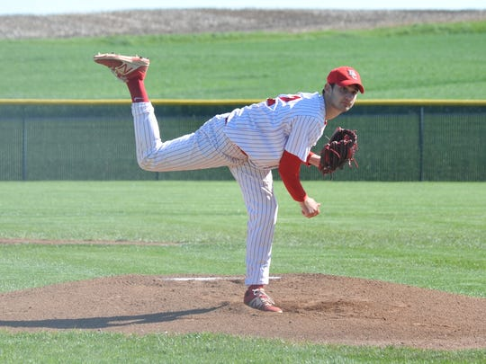 Payton Phenicie returns as one of the starting pitchers for the Bucks.