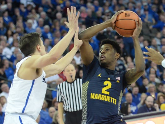 NCAA Basketball: Marquette at Creighton