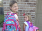 """The backpacks are ready. Prayers for all students & staff. Have a great year!"""