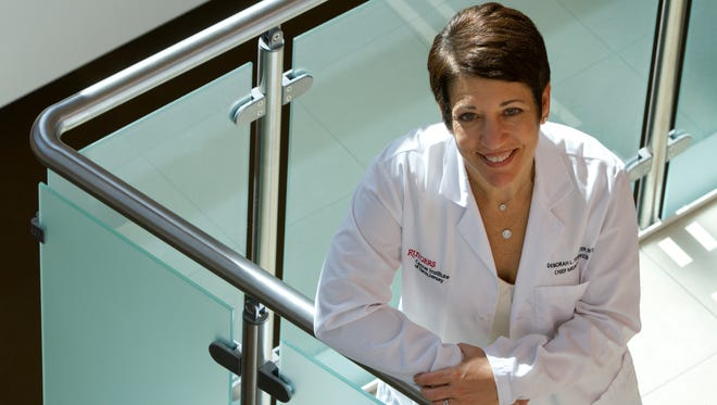 Dr. Deborah L. Toppmeyer, chief medical officer of the Rutgers Cancer Institute of New Jersey, in New Brunswick.