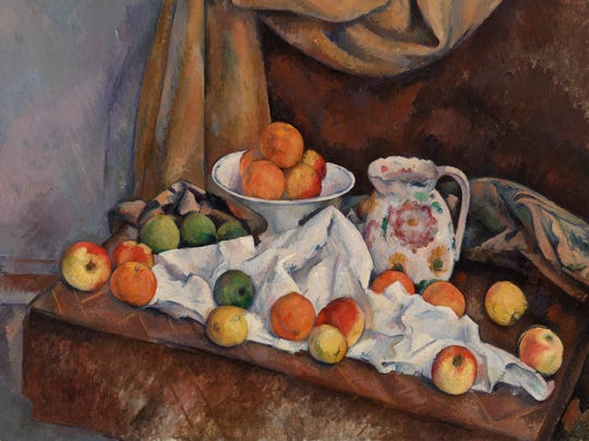 Paul Cézanne's (French, 1839–1906) 'Still Life (Nature morte) (1892–1894) is an oil work on canvas. The famous post-Impressionist work can be viewed at the Barnes as part of its collection.