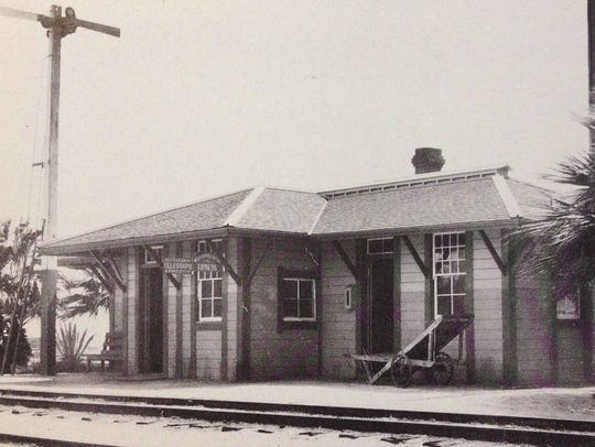 The station at Palm Springs was originally known as