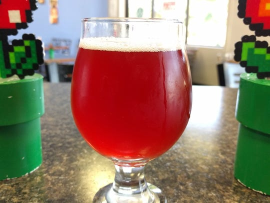 A version of Ryan's Recurring Insanity Gose from 8-Bit