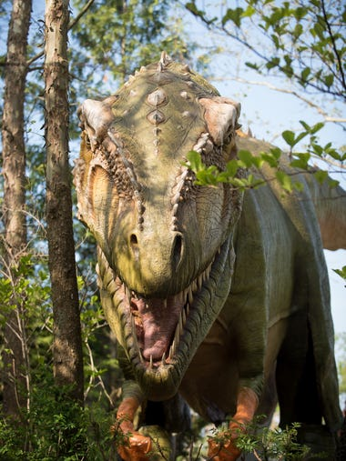Dino World will be held July 14-15 at the Columbus