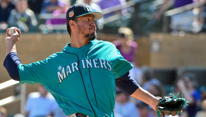 Yovani Gallardo is scheduled to make his first home start for the Mariners on Wednesday.