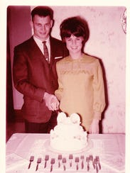 Fred and Gail Schafer, 1966.
