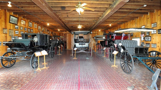 The Nutter D. Marvel Carriage Museum in Georgetown houses a collection of 20 historic carriages and sleighs, offering a glimpse of Delaware before the automobile.