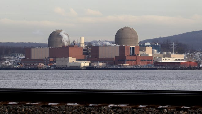 The Indian Point Energy Center nuclear plant in Buchanan.