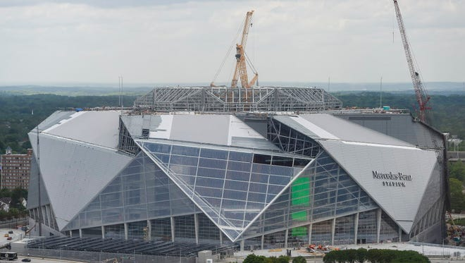 The planned opening of Atlanta's $1.5 billion stadium has been delayed.