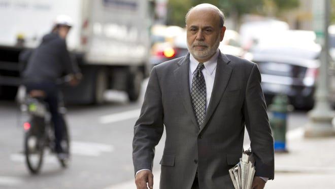 Former Federal Reserve chairman Ben Bernanke.