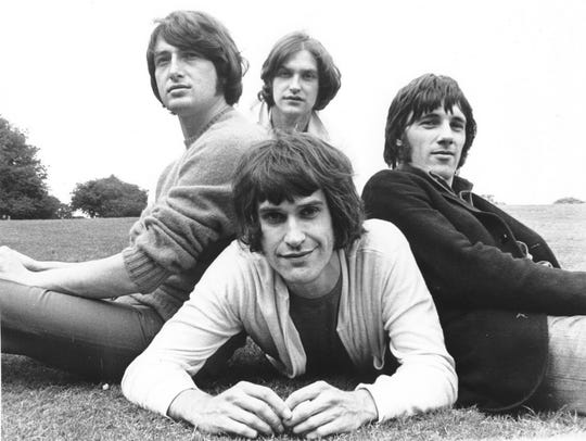 The Kinks are seen in a handout photo from the early