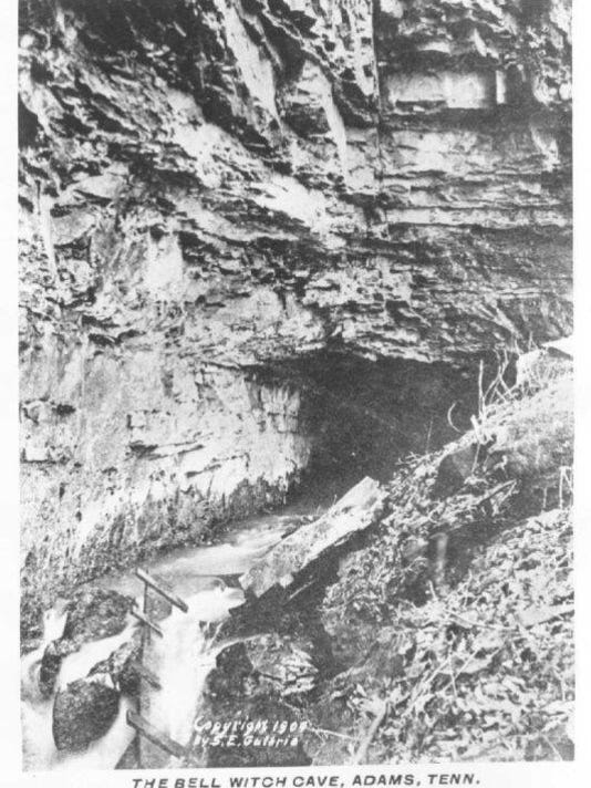 Bell witch cave